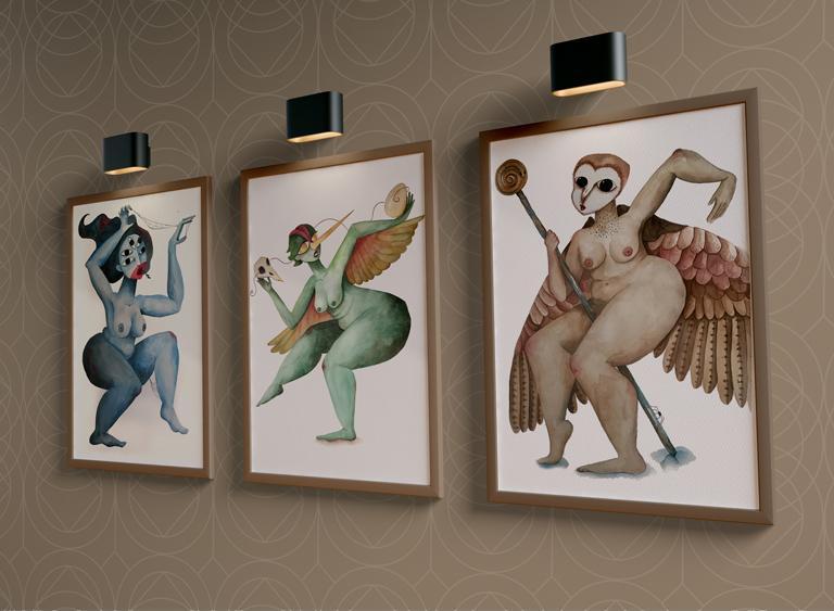 Araña baila, la danza de la lechuza y el colibrí